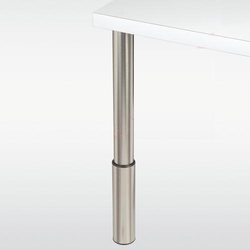 Pied de table reglable 60 70 mm plan de travail sur paris - Pied reglable pour plan de travail ...