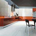 Plan de travail Silestone Naranja Cool